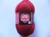 RED HEART Fina DK 02003 kirschrot 10x50g 100% Schurwolle superwash von COATS